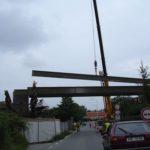 LTM 1090 ukládaní mostovky 08/2011 Štítary