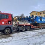 Převoz vrtačky Soilmec SR-45